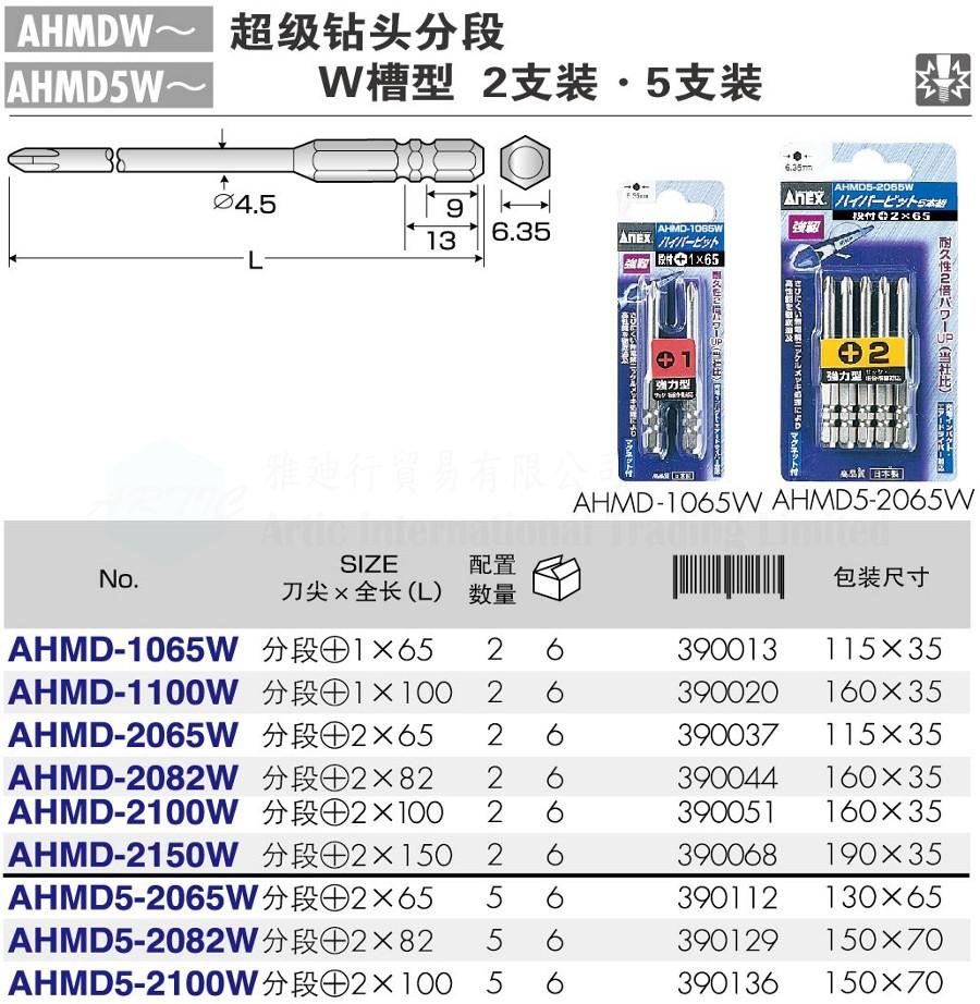 AHMDW/AHMD5W~ Series