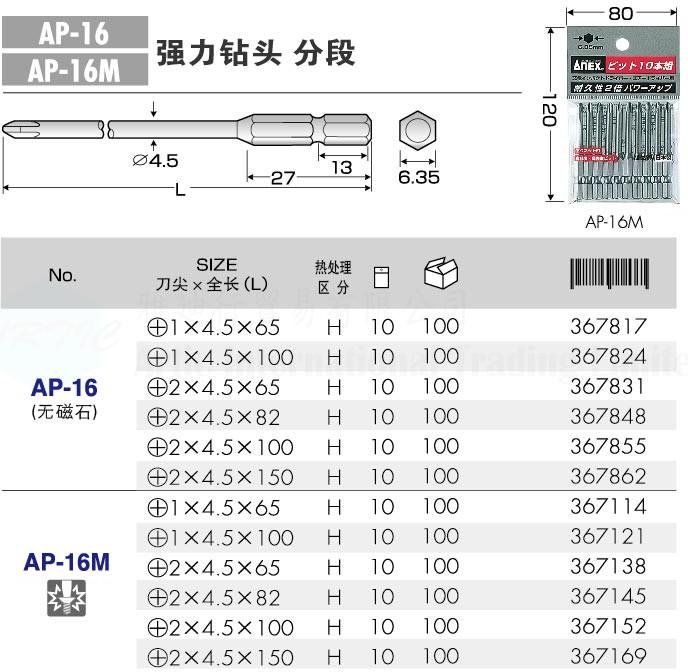 AP-16/AP-16m Series